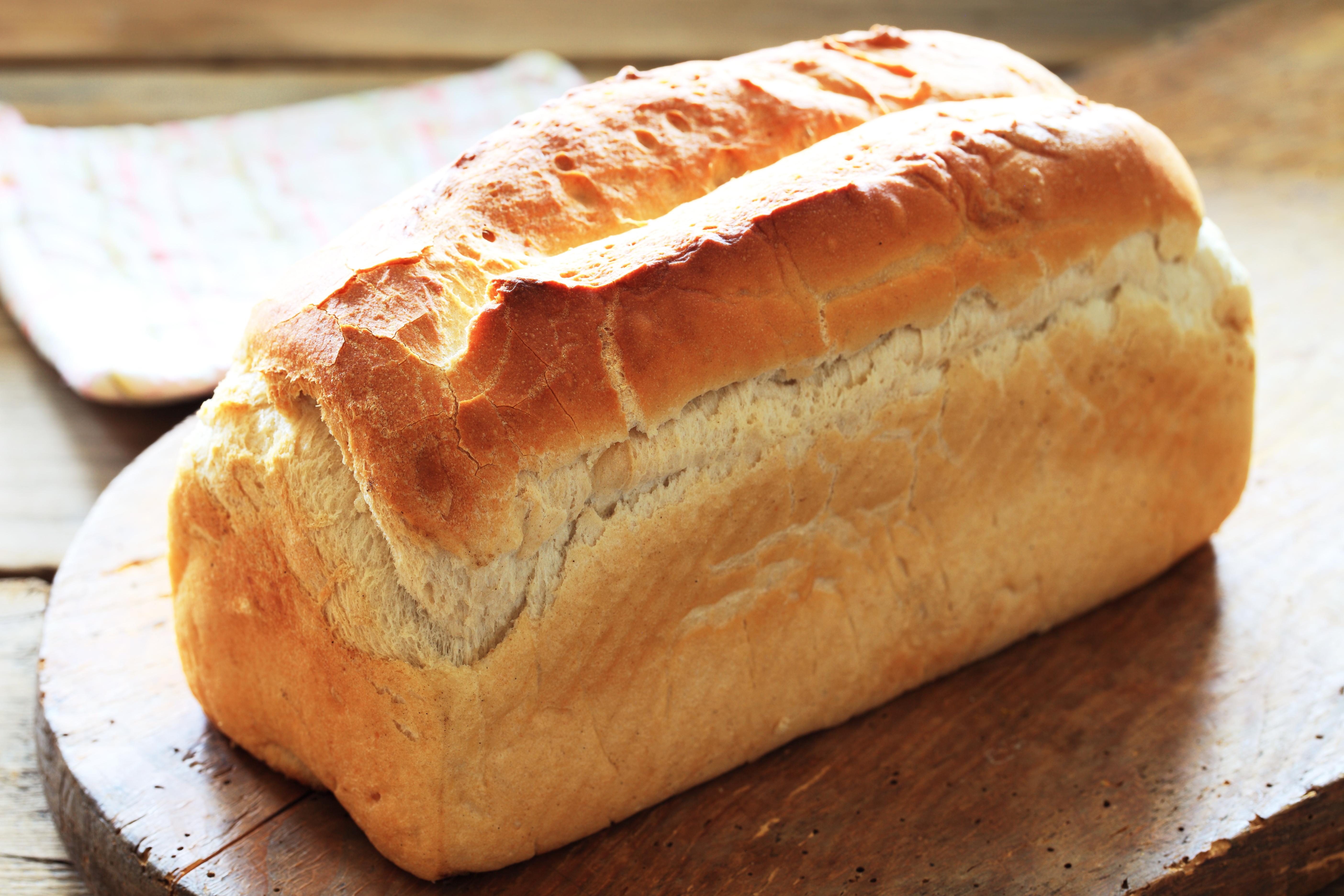 Einfaches Weißbrot für die fructosefreie Ernährung