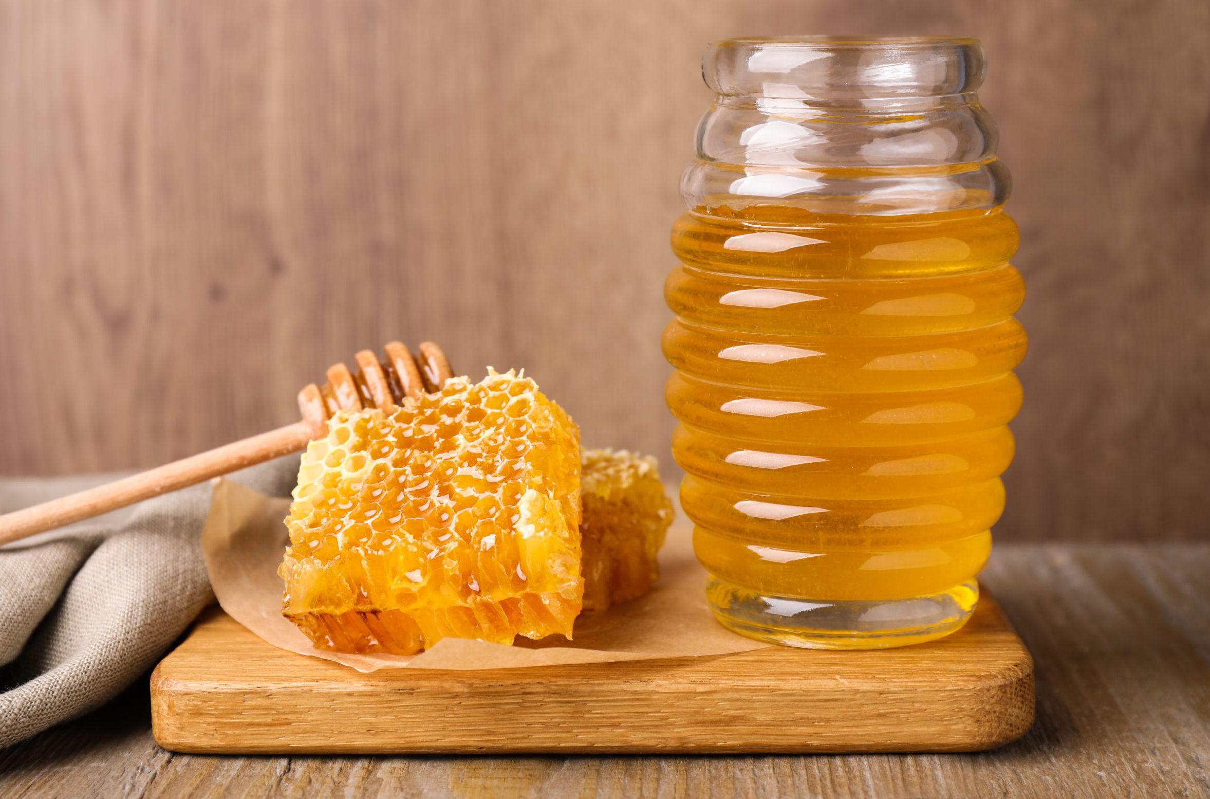 Fructose, Honig mit viel Fructose